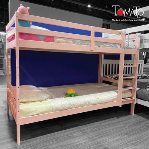 *เตียงสองชั้น Munich ขนาด 3.5ฟุต (สีชมพู)