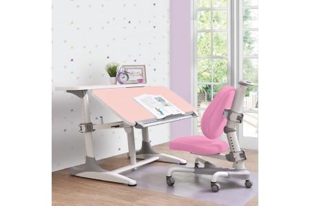 *ชุดโต๊ะทำการบ้าน Intelligent 1.0 (โต๊ะสีชมพู)