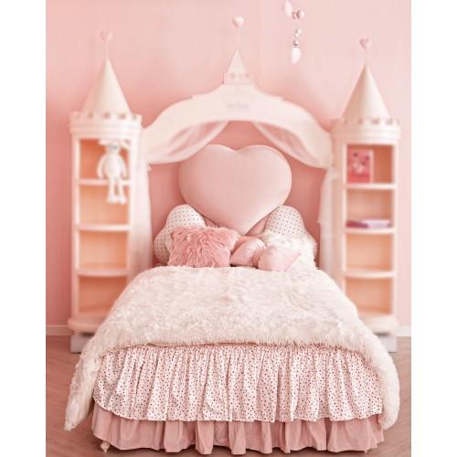 เตียงปราสาท Alessadrina Princess ขนาด 3.5ฟุต