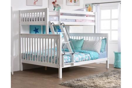 .เตียงสองชั้น Trio (สีขาว)