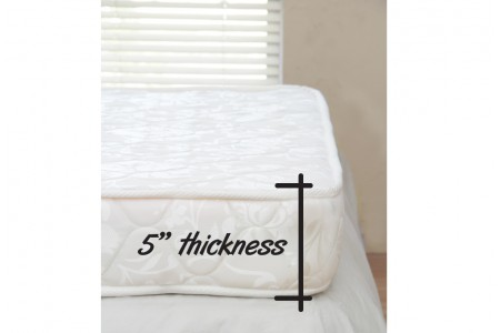 ฟูกนอนรุ่น Comfort foam 3.5 ฟุต หนา 5 นิ้ว