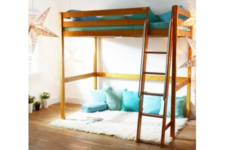 เตียง Loft (สีโอ๊ค) 3.5ฟุต