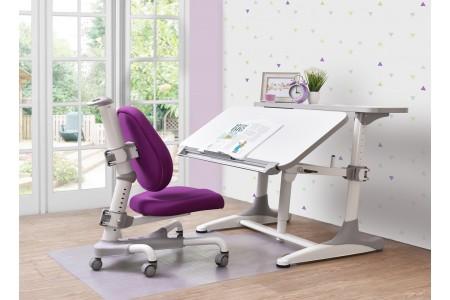 *ชุดโต๊ะทำการบ้าน Intelligent 1.0 (โต๊ะสีขาว)