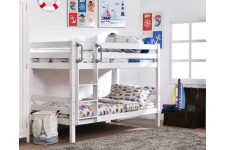 .เตียงสองชั้นแบบต่ำ Clarice ขนาด 3.5 ฟุต (ไม่รวมเตียงเลื่อน)