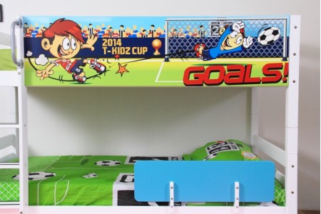 เตียงสองชั้นขนาด 3.5 ฟุต Football (ไม่รวมเตียงเลื่อน)